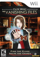 Cate West: The Vanishing Files - Nintendo Wii