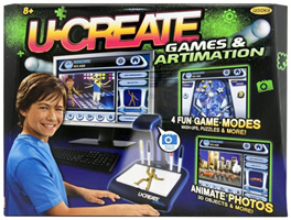 U-Create: Games and Artimation